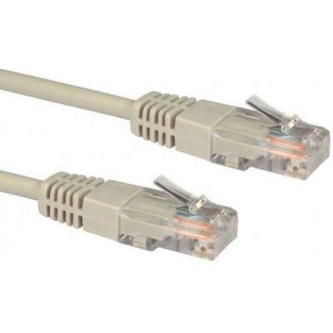 Spire Moulded Cat5e Patch Cable, 3 Metres, CCA, Grey
